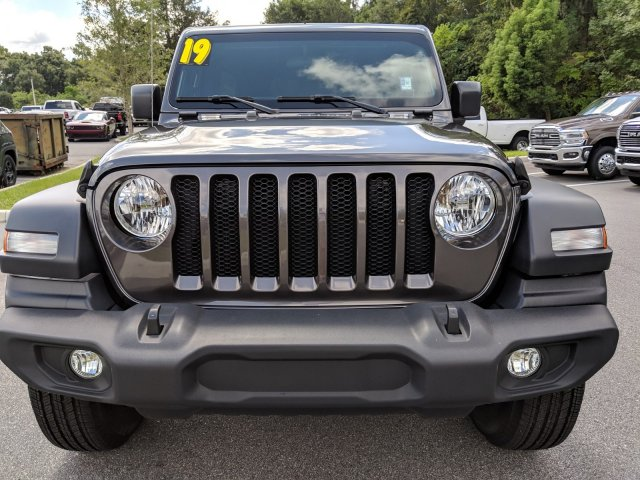 Pre-Owned 2019 Jeep Wrangler Unlimited Sport