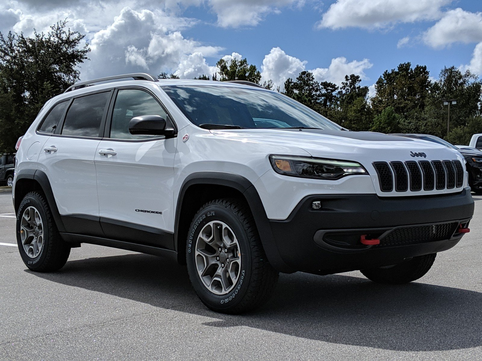 New Jeep Cherokee >> New 2020 Jeep Cherokee Trailhawk 4x4