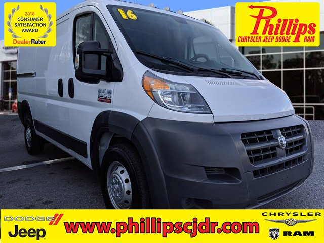 dcc3e1a056 Pre-Owned 2016 Ram ProMaster 1500 Low Roof 3D Cargo Van in Ocala ...