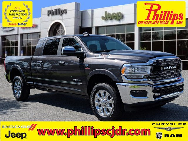 NEW 2019 RAM 2500 LIMITED MEGA CAB® 4X4 6'4
