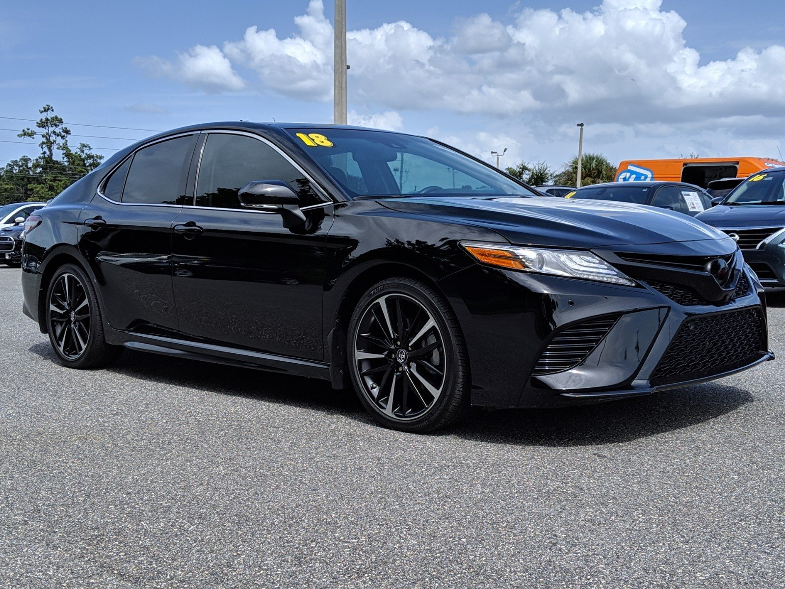 Toyota Phillips Highway >> Pre Owned 2018 Toyota Camry Xse V6 Fwd 4d Sedan